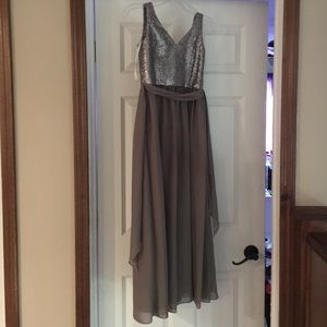 Girls size 10 junior bridesmaid dress Bari Jay